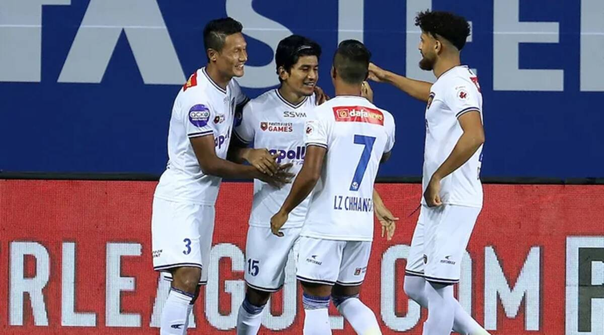 Anirudh Thapa's first-half strike sets up Chennaiyin's win over Jamshedpur