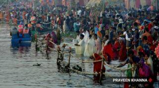 Chhath puja celebration concludes with prayers offered to Sun god at dawn