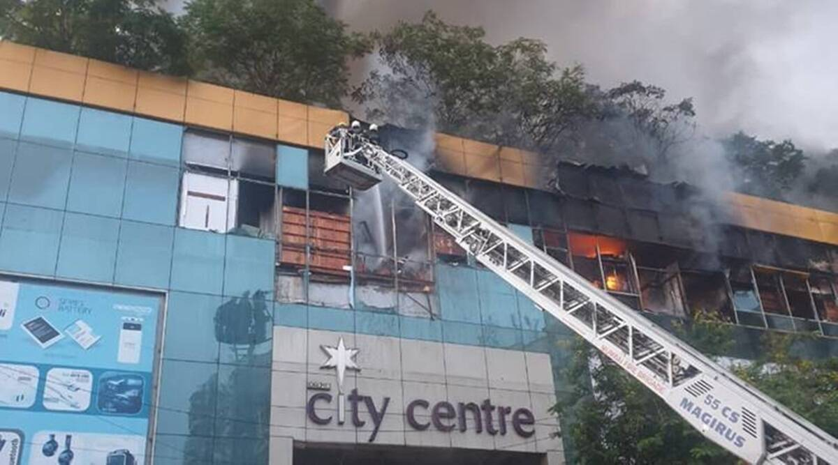 Won't allow City Centre Mall to be reoccupied till it's inspected, gets fire NOC, BMC tells HC