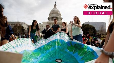 paris climate accord, US leaves paris climate agreement, Biden on Paris climate accord, US election results, Indian Express