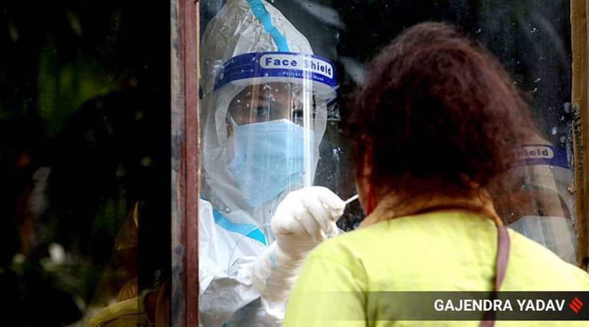 Haryana Covid reinfection, Haryana coronavirus cases, CHandigarh news, Punjab news, Indian express news