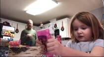 Dad pranks daughter by dancing in background of video, is in for a surprise