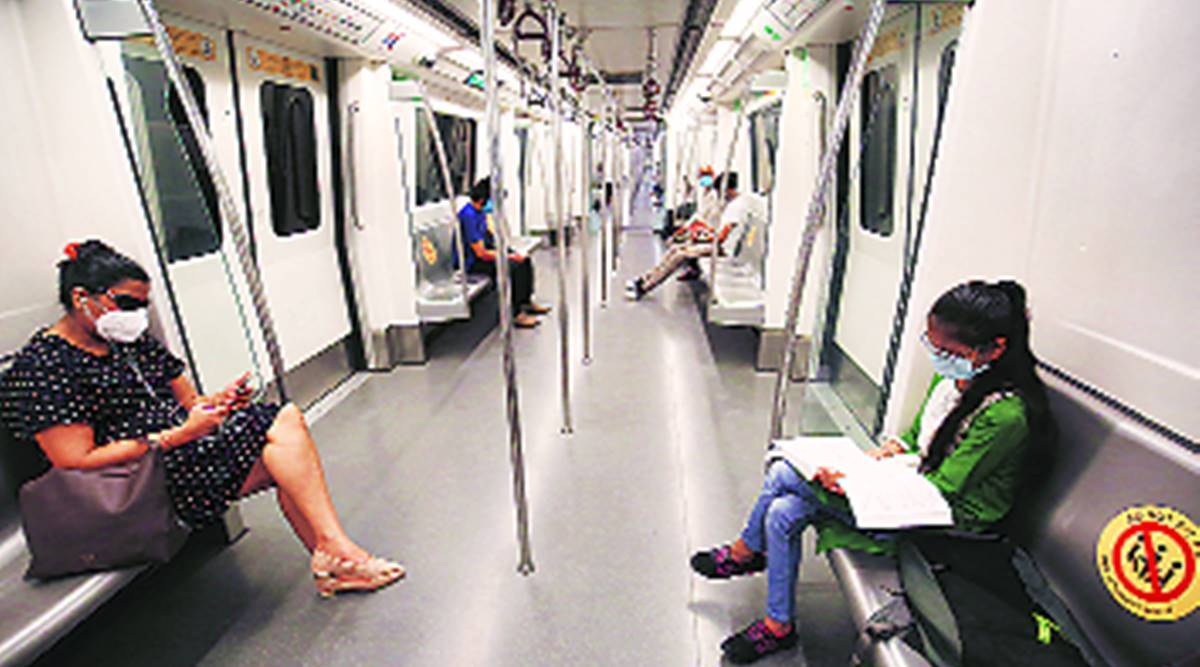 delhi metro, delhi metro services, delhi metro twitter, delhi metro delay, delhi city news, indian express news
