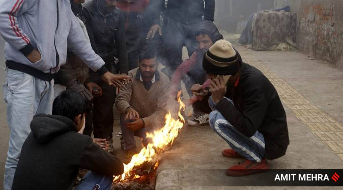 delhi weather, delhi weather forecast today, delhi temperatures, delhi records coldest november in 17 years, delhi november temperature,delhi city news, delhi news, delhi ncr news, indian express news