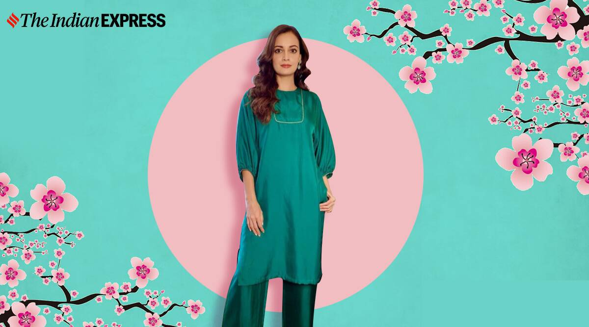 Dia Mirza keeps it simple and elegant in kurti sets; see pics