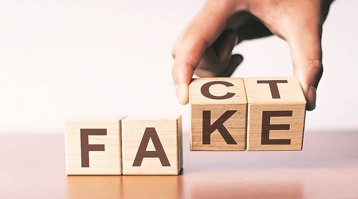 UP govt fact check, UP fake news, Lucknow news, UP news, Indian express news