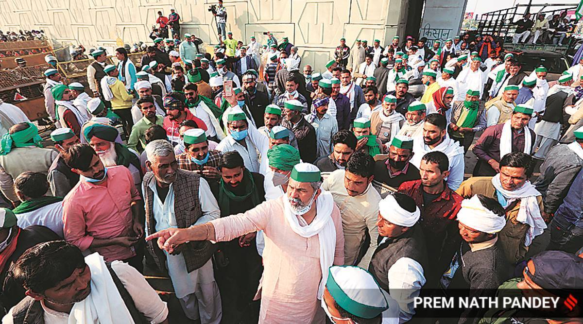 Under Ghazipur flyover, farmers recollect 2018 protest: 'Met with todphod, lathis'