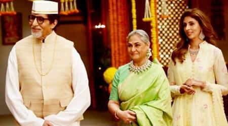 big b with jaya and shweta