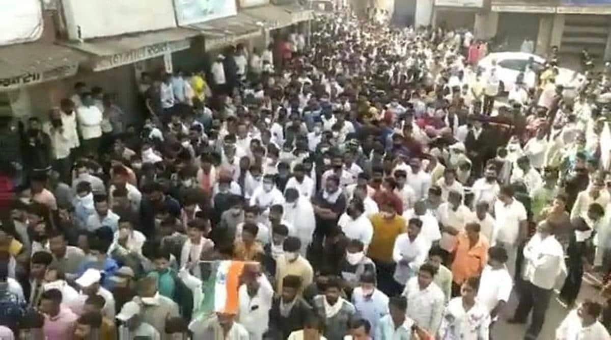 CRPF jawan found dead Ratlam, Ajitsinh Parmar, gujarat CRPF jawan dead, Kodinagar CRPF jawan, CRPF jawan dead on railway tracks, madhya pradesh police, indian express, gujarat news