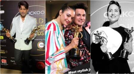 gold glam and style awards 2020