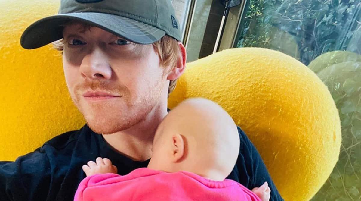 rupert grint baby name instagram