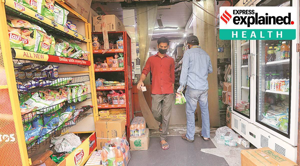 covid risk, coronavirus risk, coronavirus risk among grocery store employees, grocery store employee covid risk, indian express