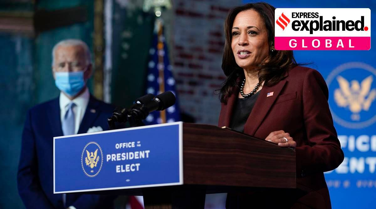 Joe biden, kamala harris, Joe biden all-women team, white house all-women media team, joe biden appointments, express explained, indian express