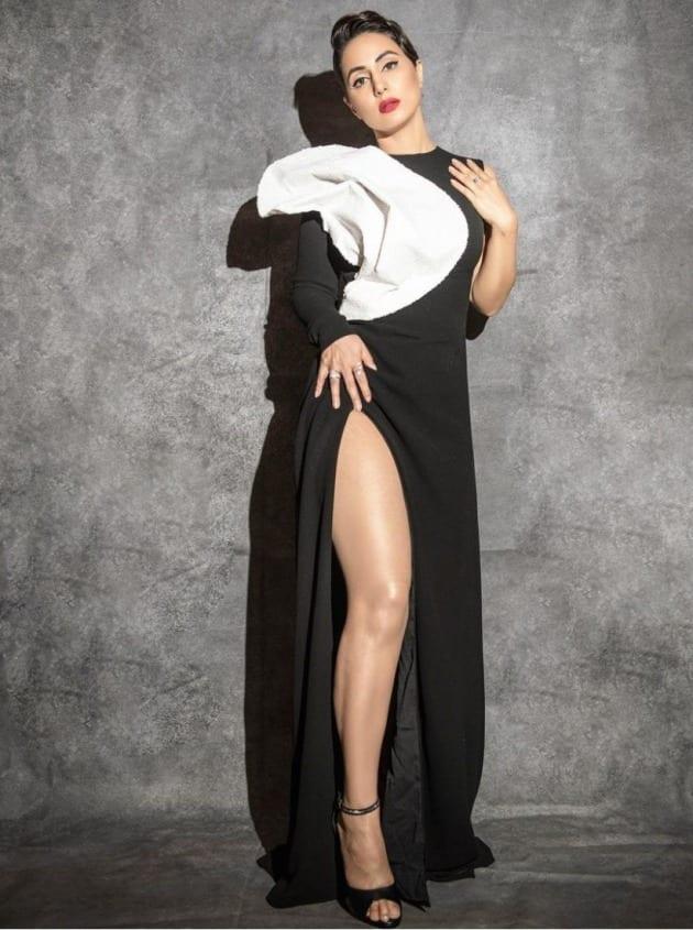 hina khan, Gold Glam and Style Awards