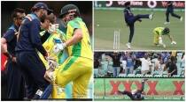 2nd ODI: Iyer's bullet throw sends Warner packing, Rahul tickles Finch's tummy