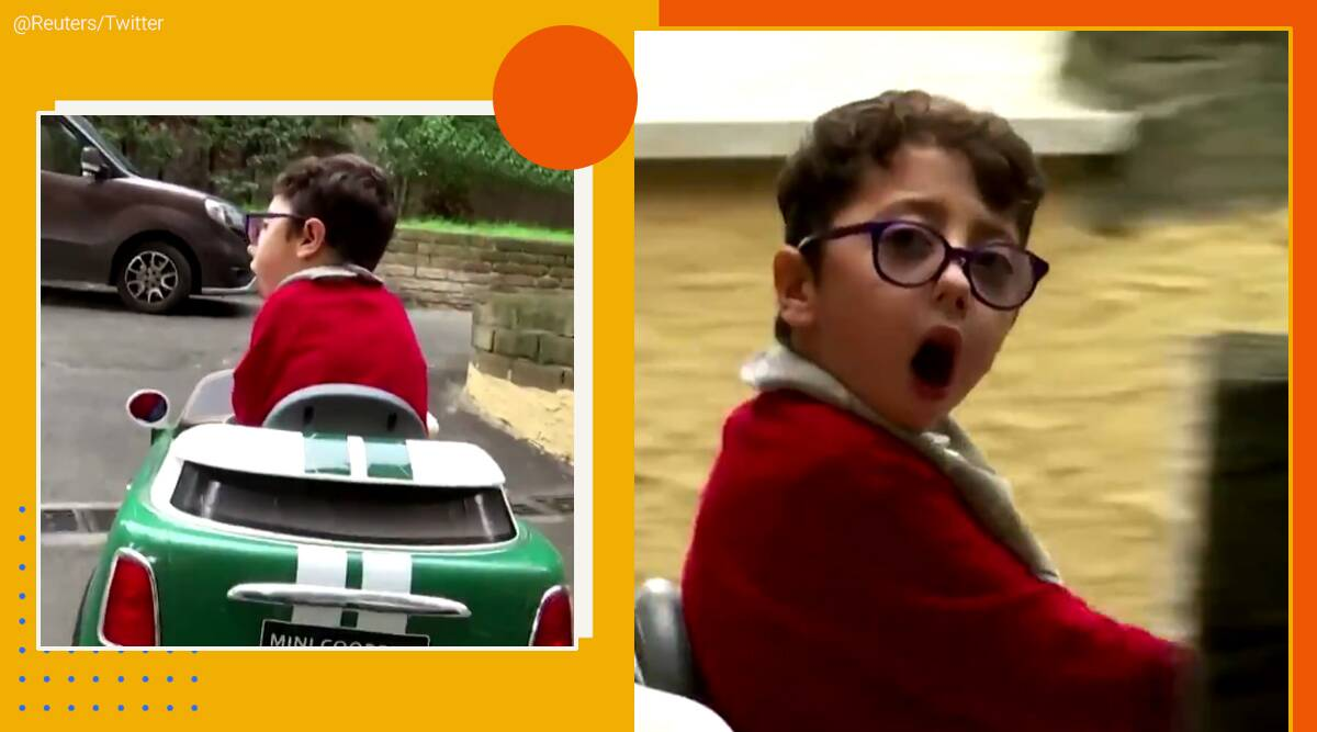7 year Italian influencer challenges disability stereotypes, disability, children disability, Sirio Persichetti, social media influencer, viral videos, trending, indian express, indian express news