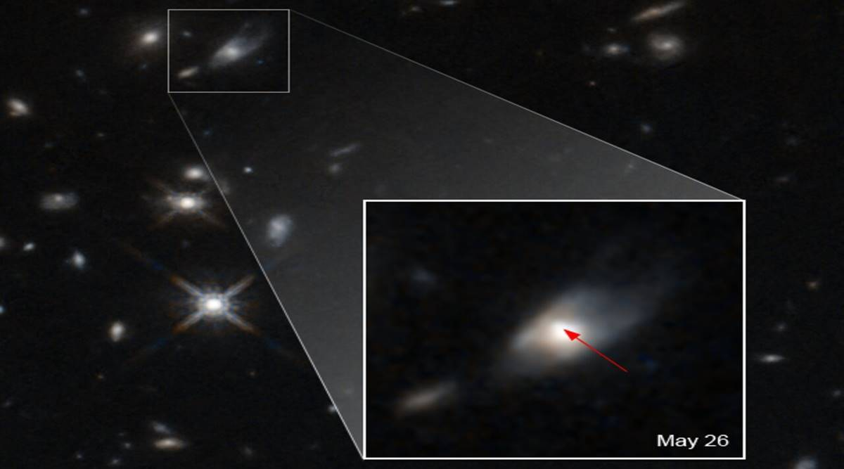 Astronomers discover 'unusual bright light' which cannot be explained thumbnail