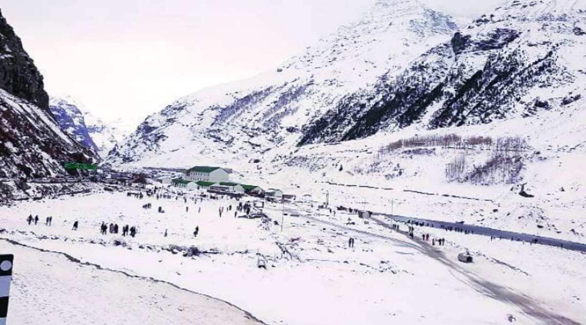 Himachal Pradesh covid update, Himachal village coronavirus, Lahaul spite tourist covid-19, indian express