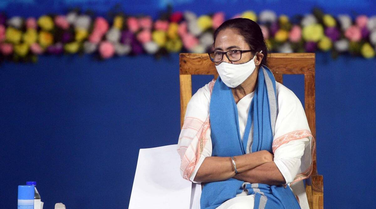 mamata banerjee, mamata banerjee rally, Suvendu Adhikari, west bengal assembly polls, indian express news