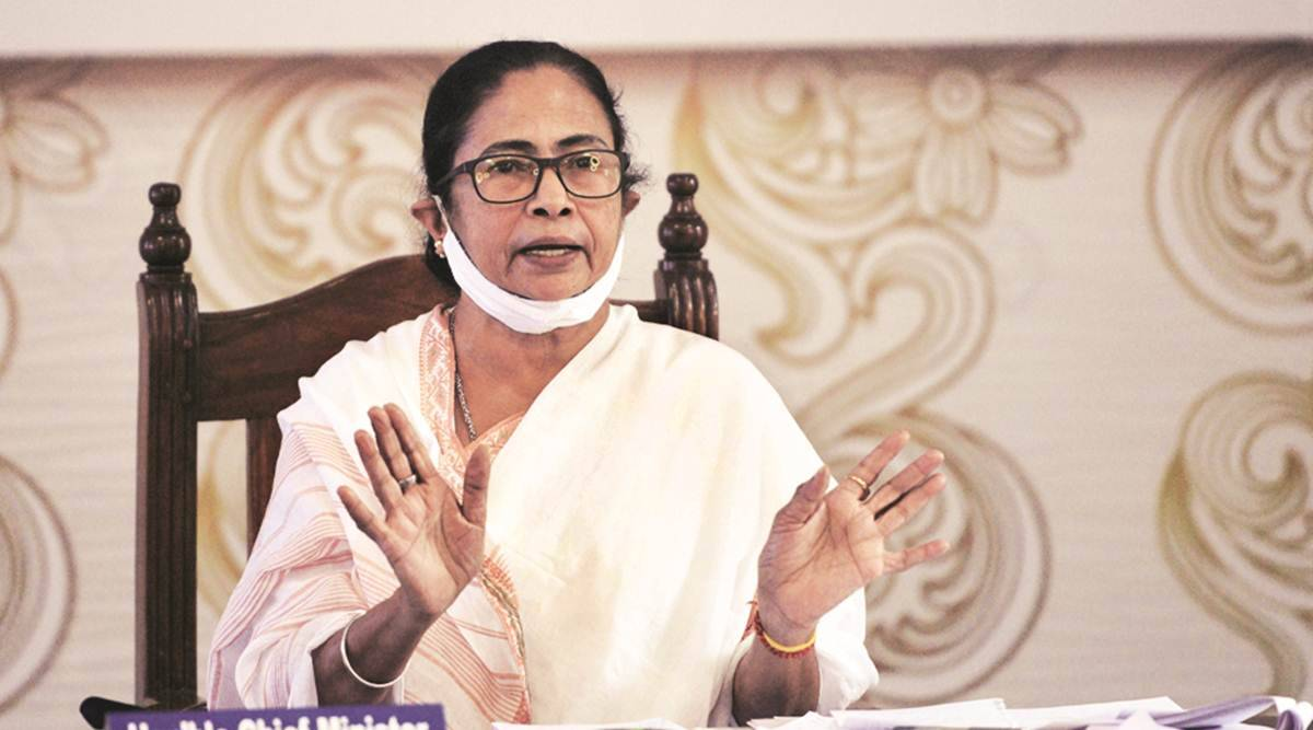 Mamata Banerjee, Mamata Banerjee on farm bills, Mamata Banerjee west bengal election campaign, bengal election 2021, indian express