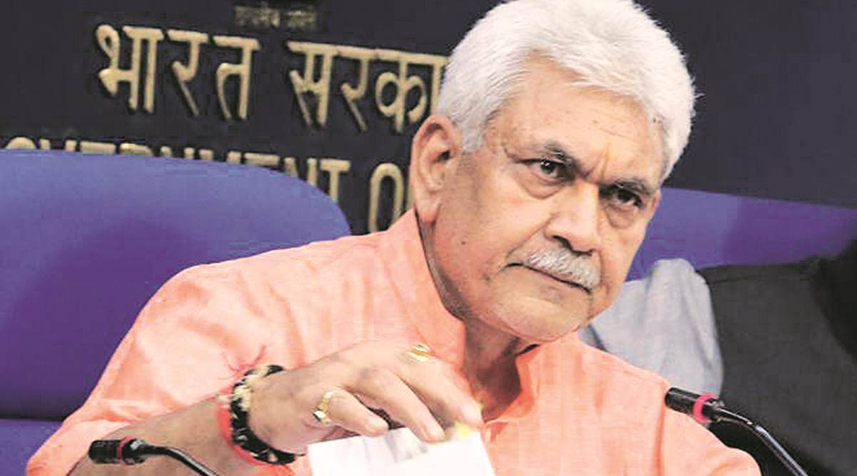 Kashmir, Jammu our two eyes, can't favour one over other: Manoj Sinha
