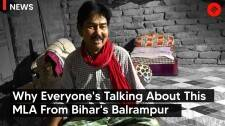 Why everyone's talking about this MLA from Bihar's Balrampur