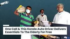 This Kerala Auto Driver Delivers Essentials To The Elderly For Free