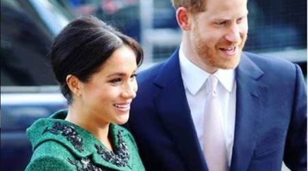 meghan markle, meghan markle pregnancy, meghan markle pregnancy loss, meghan markle miscarriage, meghan markle article on miscarriage, indian express news