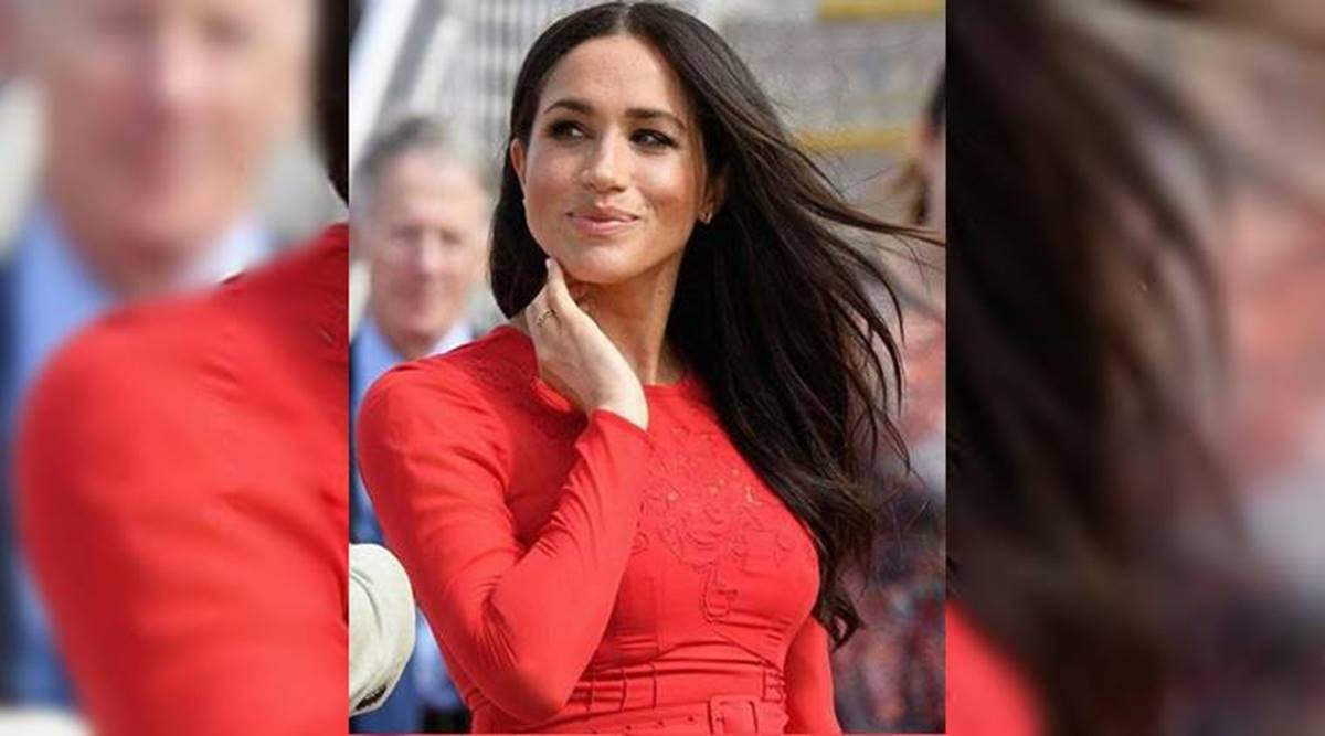 meghan markle creates history becomes first member of british royal family to vote in us election lifestyle news the indian express meghan markle creates history becomes