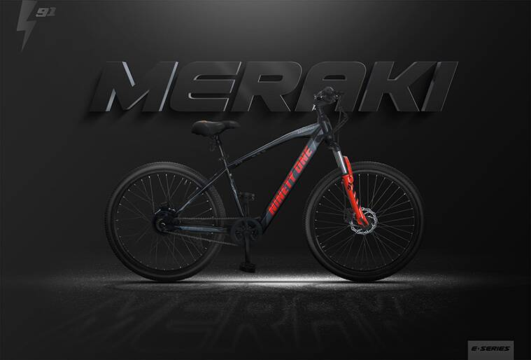 Meraki ebike,Meraki ebike in India, AlphaVector ebike startup, Meraki ebikes, Meraki ebike price in India, Vishal Chopra AlphaVector