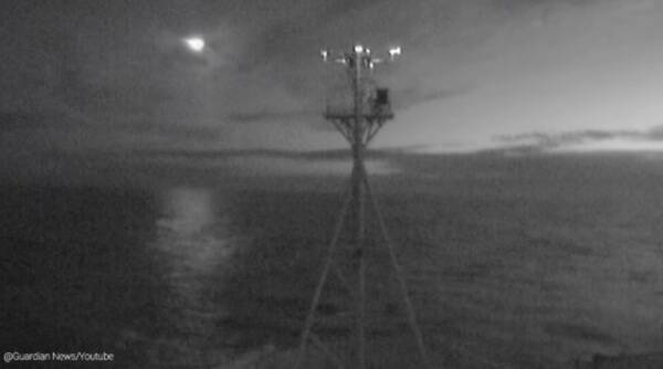 Meteor, Tasmania, CSIRO research vessel, live stream camera meteor research vessel, Meteor caught on camera, Trending news, Indian Express news.