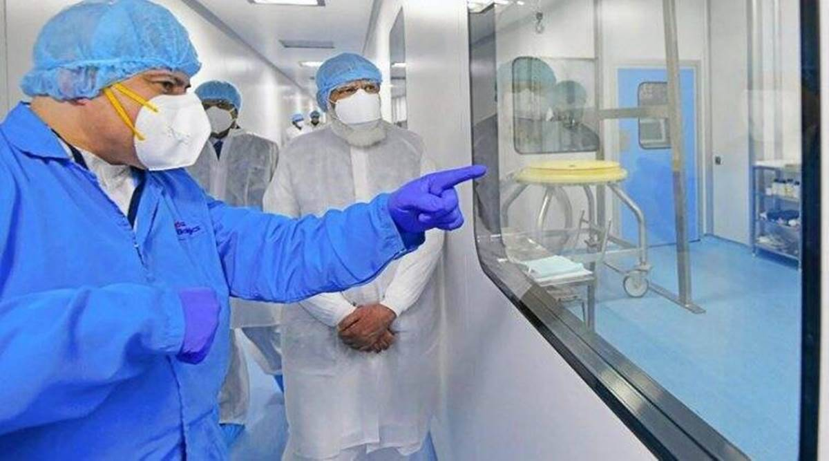 PM visits vaccine facilities: in collective fight against virus