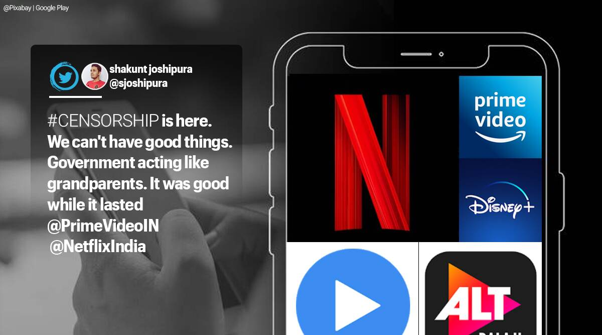 Information and Broadcasting ministry, ott platforms cencorship, streaming services cencorship, Information and Broadcasting ministry netflix, Information and Broadcasting ministry streaming services, Information and Broadcasting ministry news websites, India news, Indian Express news