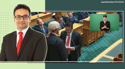 Watch: Newly-elected New Zealand MP Dr Gaurav Sharma takes oath in Sanskrit