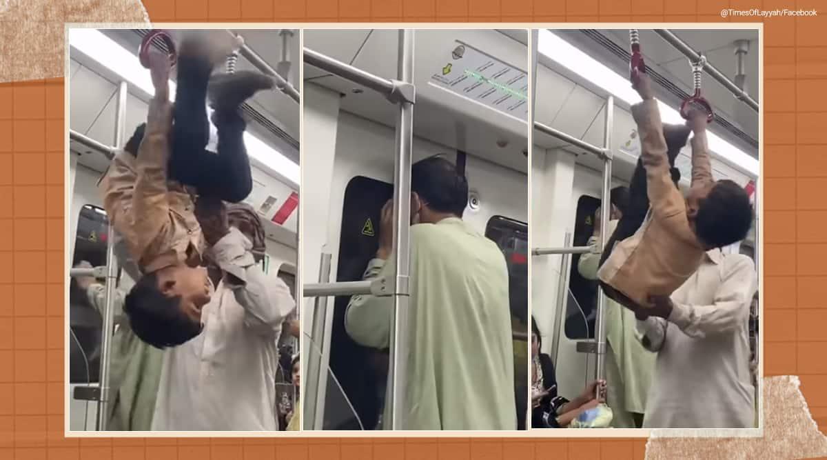 Lahore orange, Pakistan, Pakistan first metro line, orange line, Lahore metro entertainment opportunities viral video, trending, indian express, indian express news
