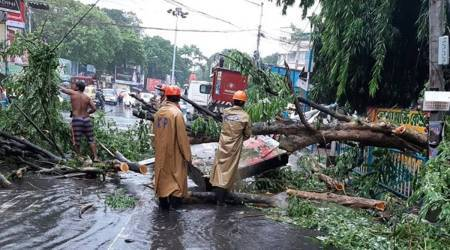 Amphan relief fund, Bengal news, MHA cyclone relief, Kolkata news, Bengal news, Indian express news