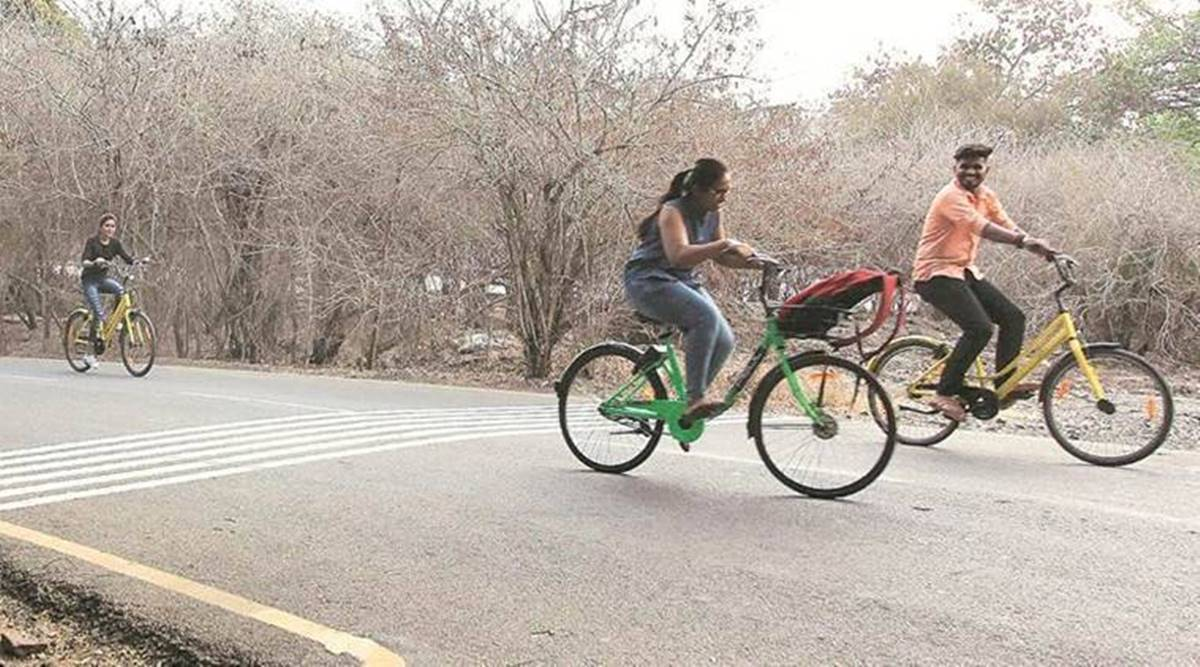 Only 18 per cent cyclists in Pune use cycle tracks: survey