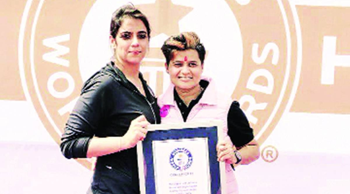Pink Belt Mission, karate champion, self-defence training class, women empowerment, Pune news, Agra news, Indian express news