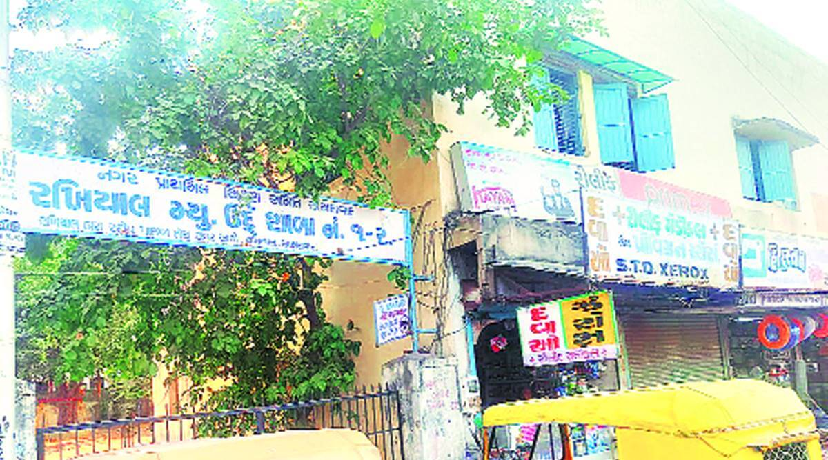 Ahmedabad schools, Ahmedabad Students drop out, Ahmedabad civic school buildings, Ahmedabad dilapidated school buildings, Ahmedabad news, Gujarat news, Indian express news