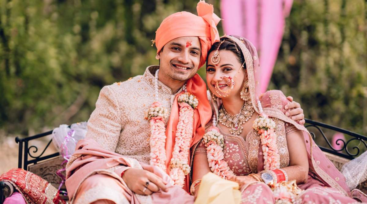 priyanshi painyuli wedding photos