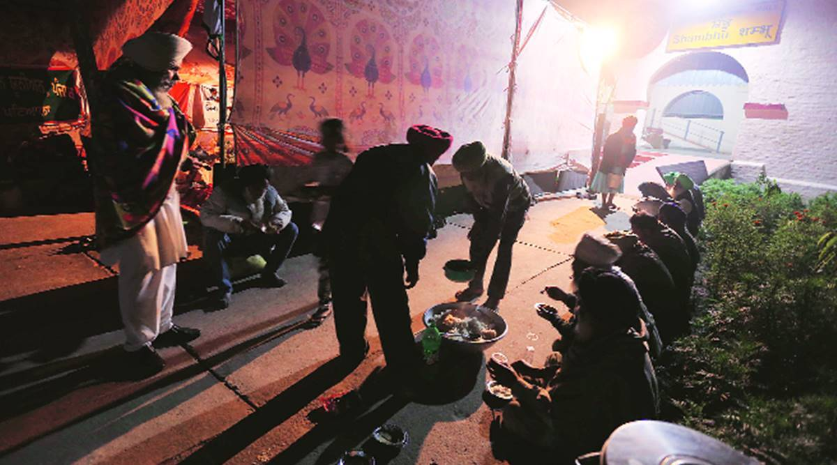 Tents, langar, shifts: Behind stir, a well-oiled, disciplined machine