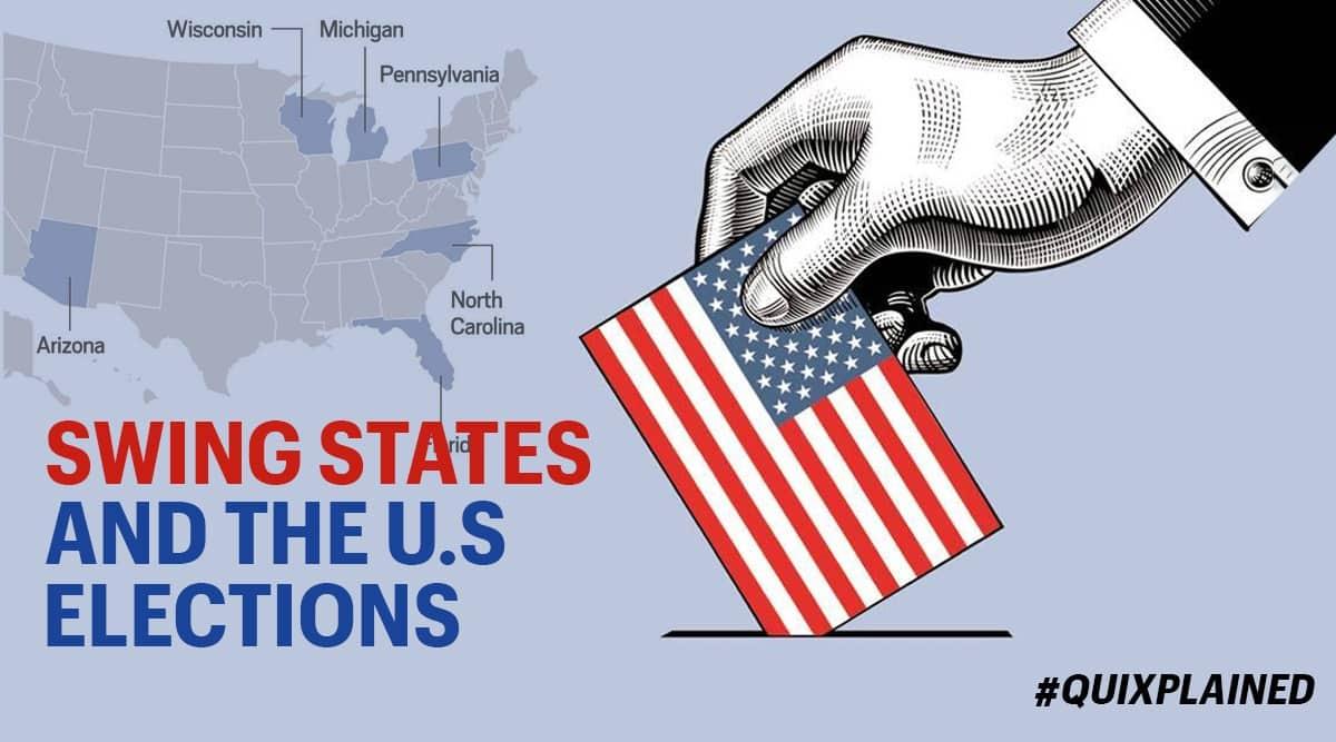 US elections 2020, US election, Swing states, Wisconsin, Democrats, Republican, Joe Biden, Indian Express