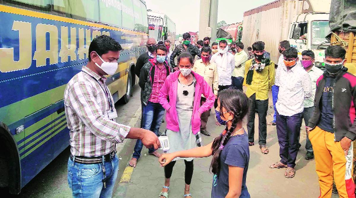 Mumbai RT-PCR tests, Mumbai covid cases, Mumbai coronavirus test, Mumbai news, Maharashtra news, Indian express news