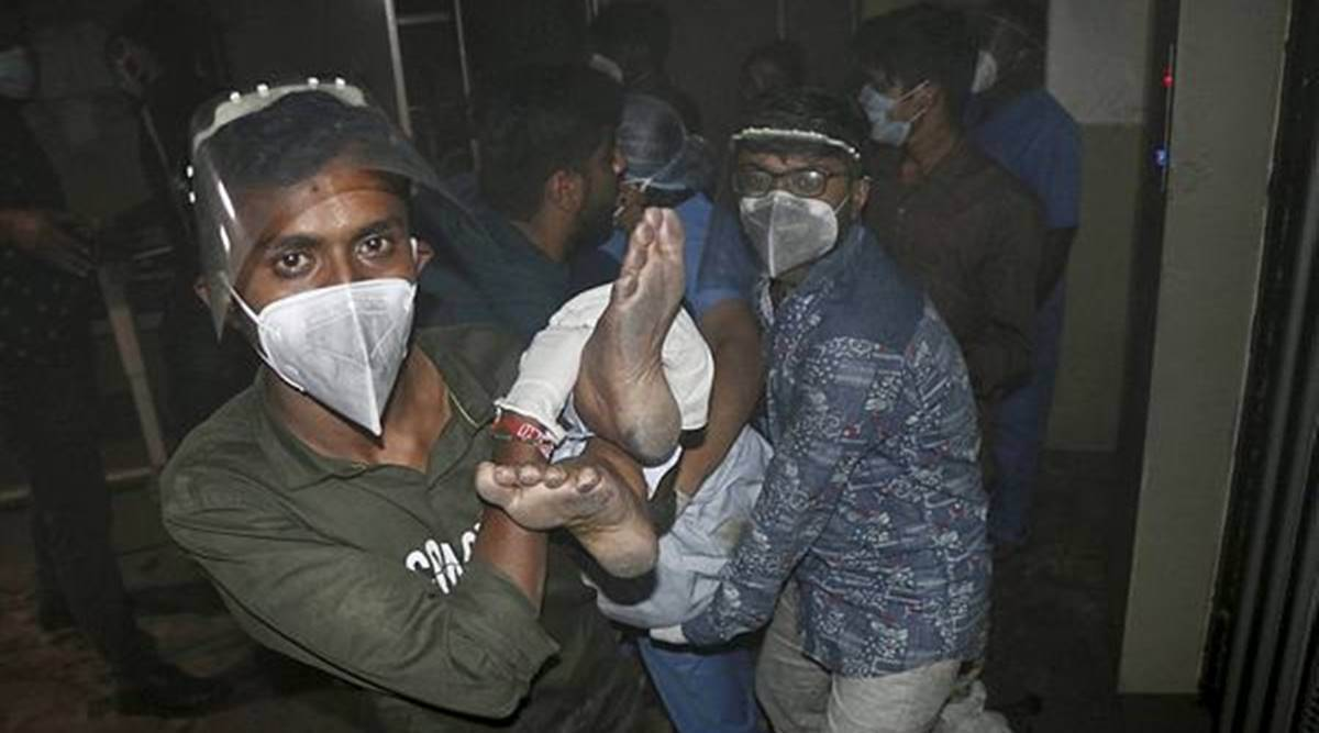 Rajkot Hospital Fire: Chairman, 4 others booked for negligence