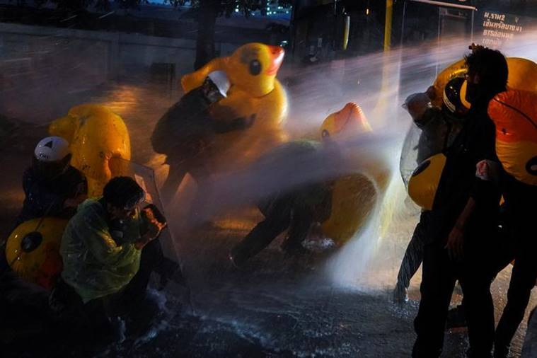 Explained: Why a large yellow rubber duck has become a symbol of Thailand's protests