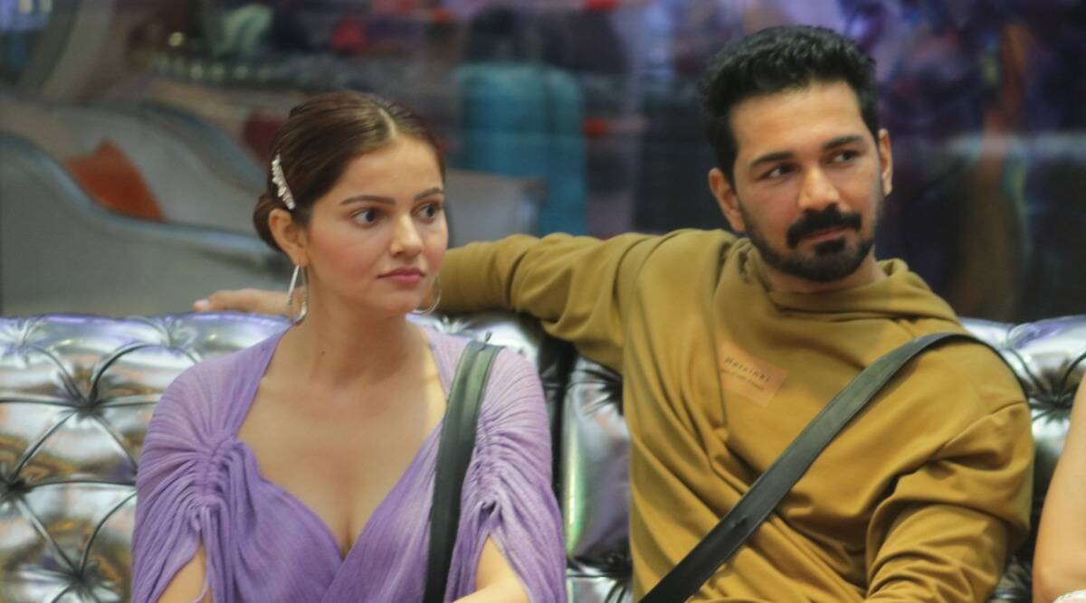 Rubina Dilaik: Abhinav and I were about to get divorced - The Indian Express