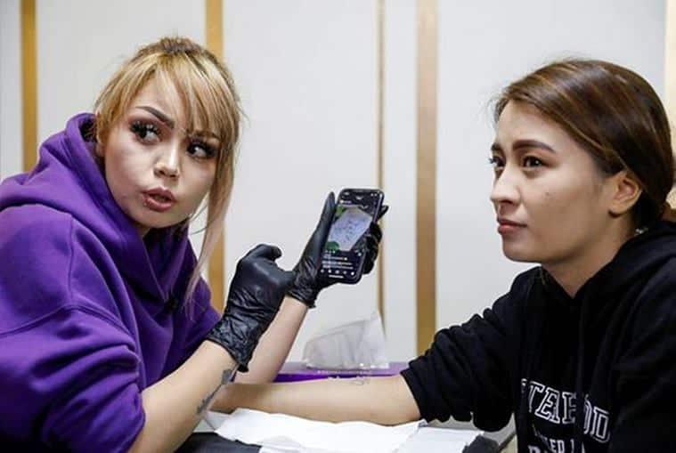 Afghanistan news, afghanistan tattoo artist, kabul tattoo studio, Tattoo artist Soraya Shahidy, viral, trending,