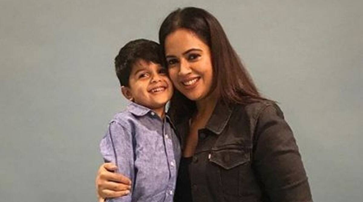 Sameera Reddy, Sameera Reddy debut book, Sameera Reddy author, Sameera Reddy on her debut book, Sameera Reddy writing, Sameera Reddy Instagram, Sameera Reddy on mental health, Sameera Reddy on motherhood, indian express news