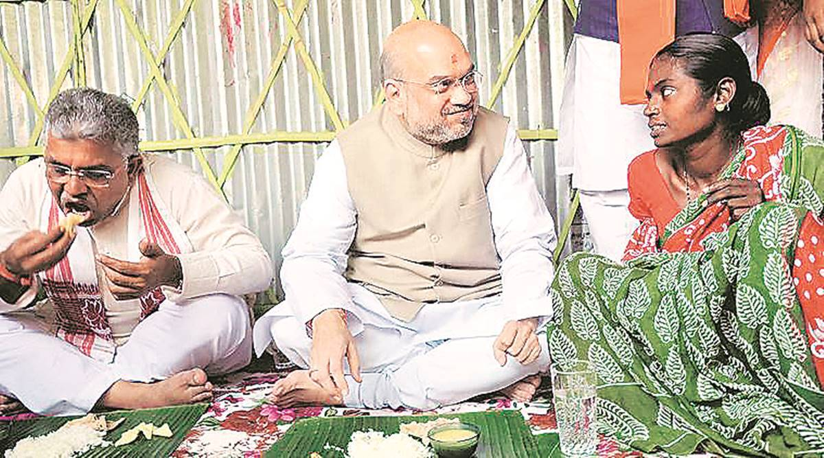 amit shah, amit shah in bengal, amit shah in west bengal, amit shah bankura, amit shah bengal, west bengal assembly elections 2021