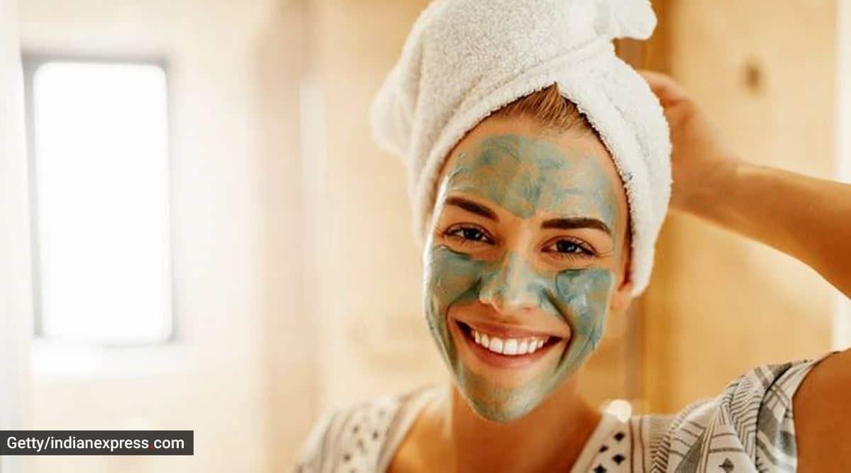 mask for glowing skin, easy DIY skincare, green tea skincare, skincare tips, face masks, indianexpress.com, indianexpress, Dr Geetika Mittal Gupta,